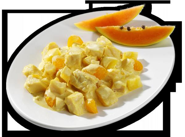 Curry-Geflügel-Salat