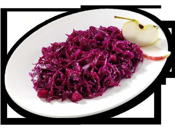 Apfel-Rotkraut-Salat Pur