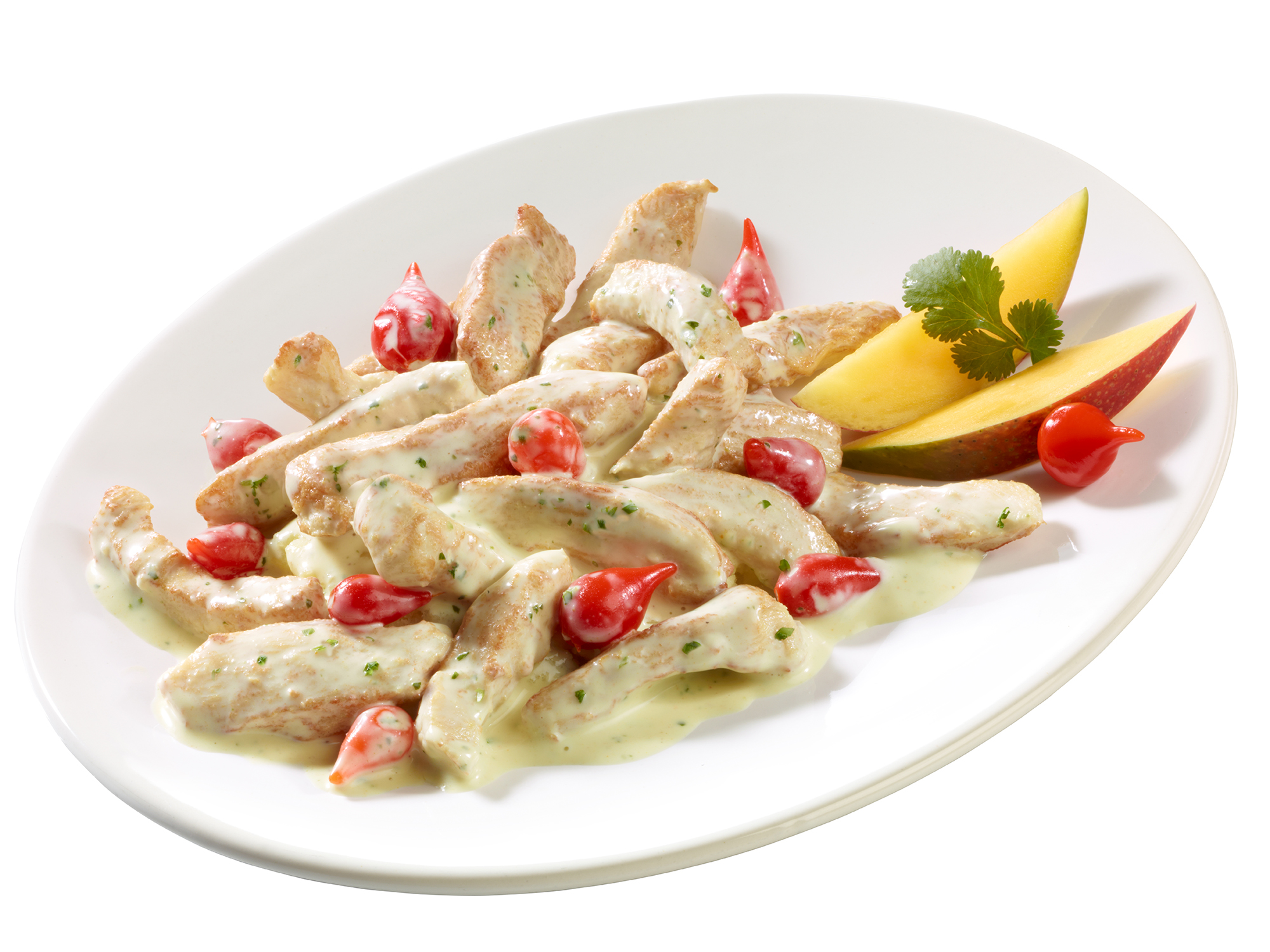 "Hähnchenbrust-Salat ""Koriander"""